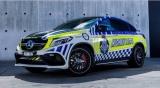 Полисмены Австралии обзавелись новенькими Mercedes-AMG GLE Coupe
